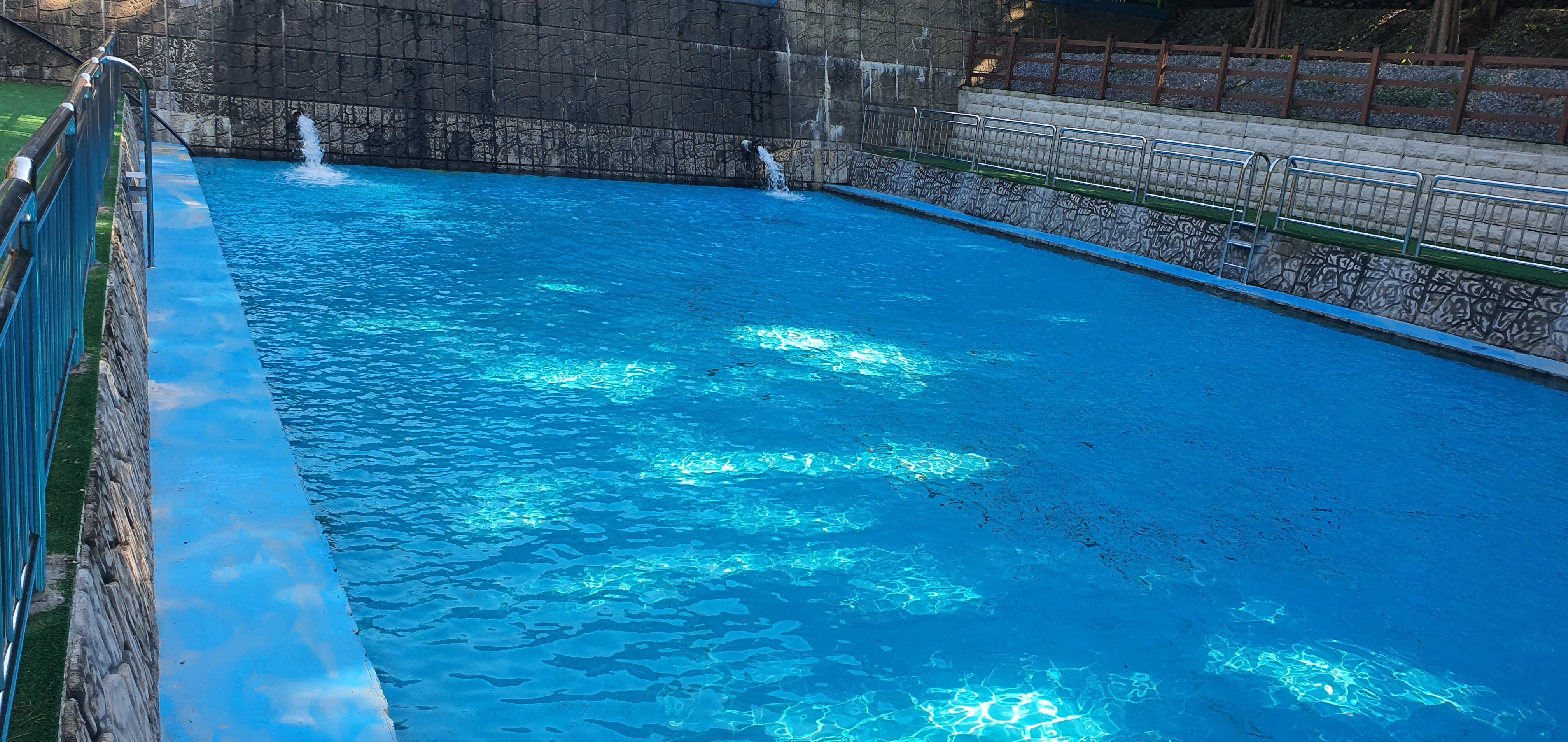 칠갑산자연휴양림 물놀이시설