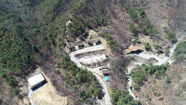 B구역,산림휴양관, 세미나실 전경
