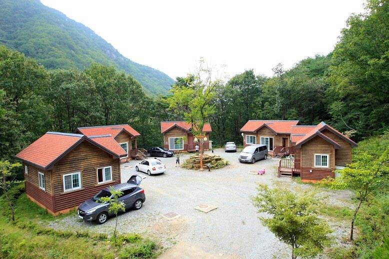 오도산자연휴양림 숲속의 집