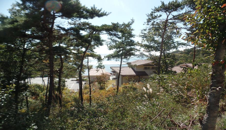 변산 산림문화휴양관 원경